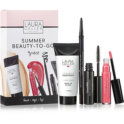 Laura Geller Online Only Summer Beauty-to-Go 4 Pc Collection