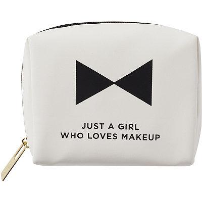 Tartan + TwineBasics Word Just A Girl Who Loves Makeup Organizer