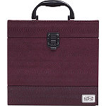 Soho Triple Slider Burguny Wine Beauty Case