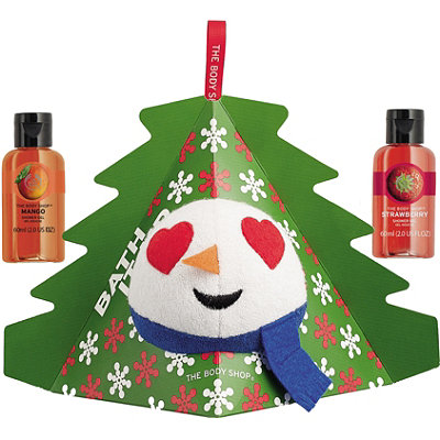 The Body Shop Bath it Up Snowman Gift Set