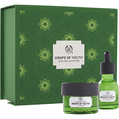 The Body ShopOnline Only Drops of Youth Skincare Collection