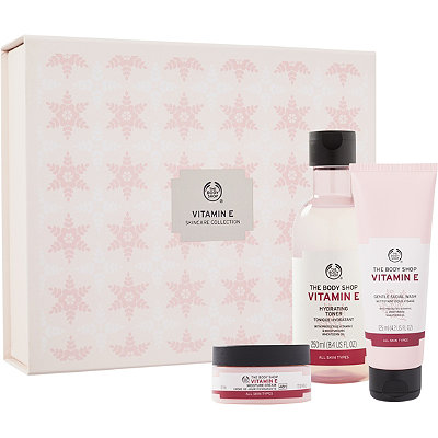 The Body ShopOnline Only Vitamin E Skincare Collection