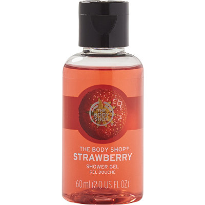 Online Only Travel Size Strawberry Shower Gel