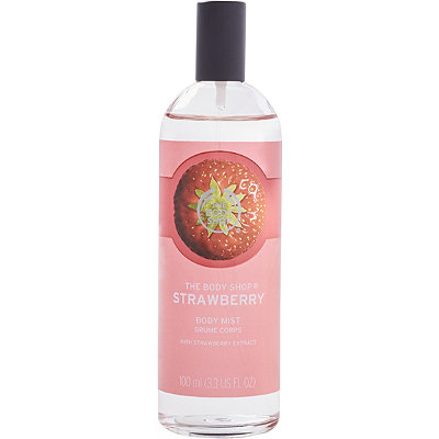 The Body Shop Online Only Strawberry Body Mist