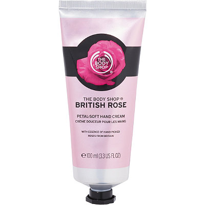 The Body Shop Online Only Travel Size British Rose Hand Cream