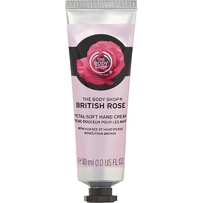 Online Only Travel Size British Rose Hand Cream