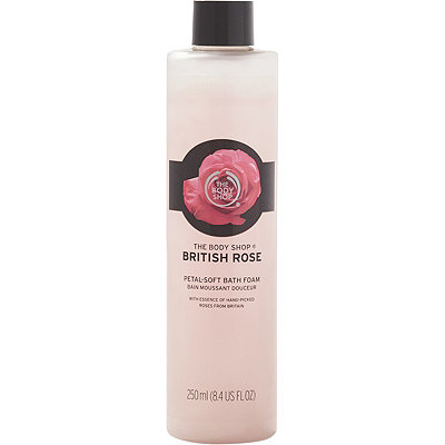 The Body ShopOnline Only British Rose Bath Bubbles