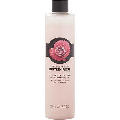 Online Only British Rose Bath Bubbles