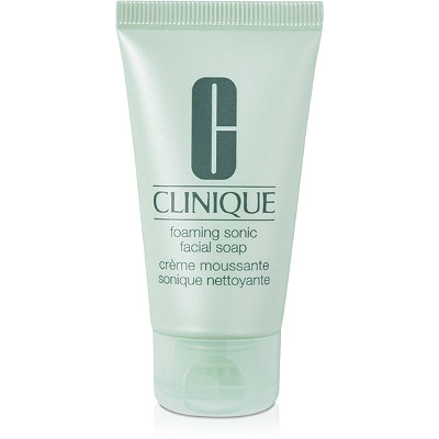 Clinique Online Only Free Treat%21 deluxe sample Foaming Sonic Soap w%2Fany %2425 Clinique purchase