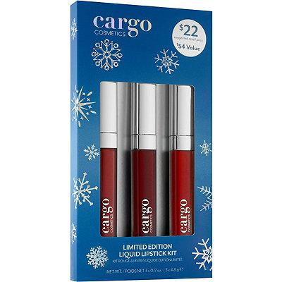CargoOnline Only Liquid Lipstick Kit