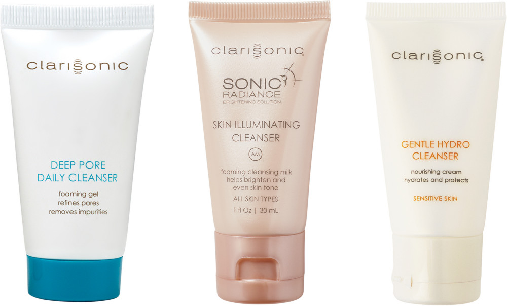 Receive a free 3-piece bonus gift with your $ Clarisonic purchase