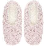 Pink Swirled Bunny Slippers