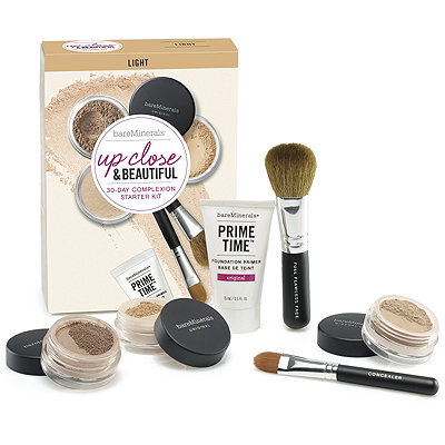 BareMineralsUp Close %26 Beautiful 30 Day Complexion Starter Kit