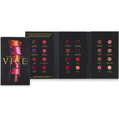 Urban Decay CosmeticsCyber Fundays%21 Online Only FREE Vice Lipstick 24-Shade Sampler w%2Fany %2440 Urban Decay purchase