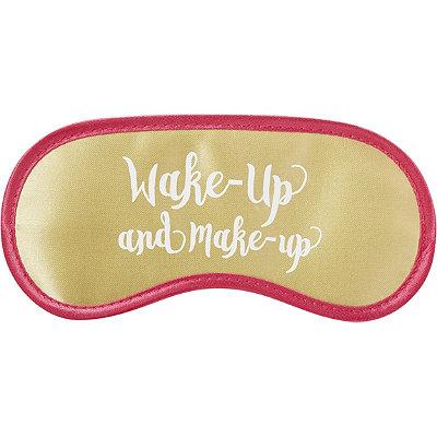 Upper CanadaGold Satin Eye Mask Wake Up And Make Up