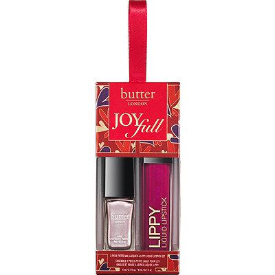 Butter LondonJoyFull 2 Pc Petite Nail Lacquer %26 Lippy Liquid Lipstick Set