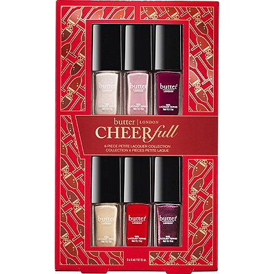 Butter London CheerFull 6 Pc Petite Lacquer Collection