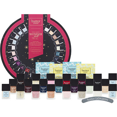 Butter London Online Only The Most WonderFull Of All Ultimate 22 Pc Treatment %26 Nail Lacquer Collection w%2F Essentials
