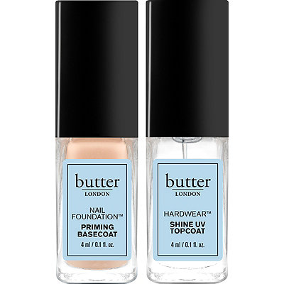 Butter London Dynamic Duo Mini Base and Top Coat