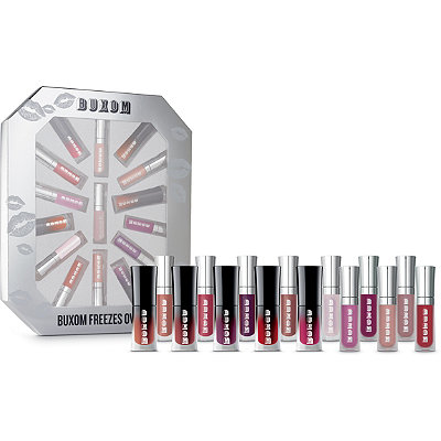 BuxomBuxom Freezes Over Plumping 15 Pc Mini Lip Collection