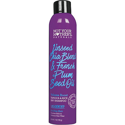 Naturals Linseed Chia Blend & French Plum Seed Oil Volume Boost Dry Shampoo