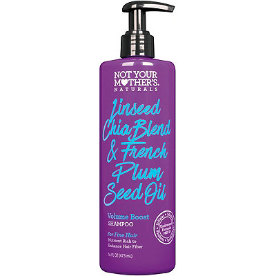 Not Your Mother'sNaturals Linseed Chia Blend & French Plum Seed Oil Volume Boost Shampoo