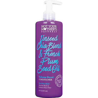 Not Your Mother's Naturals Linseed Chia Blend %26 French Plum Seed Oil Volume Boost Conditioner