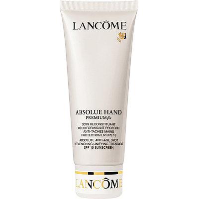 LancômeAbsolu Anti-Age Spot Replenishing Unifying Treatment SPF 15 Hand Cream