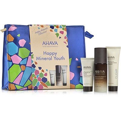 Ahava Online Only Happy Minerals Smooth %26 Glow Face Set