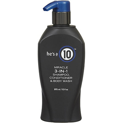 It's A 10He's a 10 Miracle 3-IN-1 Shampoo, Conditioner & Body Wash