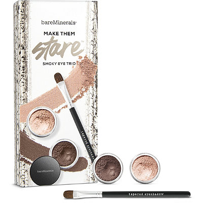 BareMineralsMake Them Stare 2 Pc Eyecolor %26 Brush Collection
