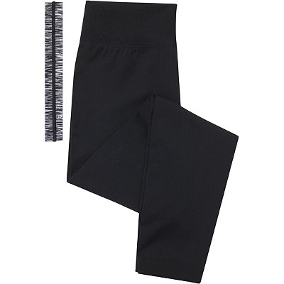 Scünci Fitness Duo Black Leggings with Head Wrap
