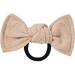 Cashmere Ponytailer Bow