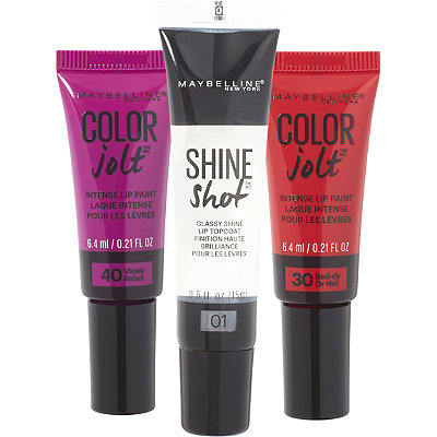 MaybellineShine With A Jolt Of Color Naughty Limited Edition Set