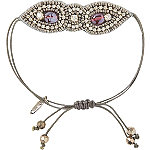 Purple Drawstring Bracelet