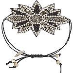 Black Drawstring Bracelet