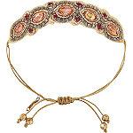 Bronze Drawstring Bracelet
