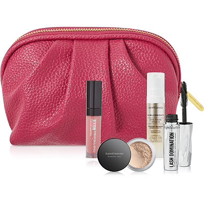 Receive a free 5-piece bonus gift with your $50 bareMinerals purchase