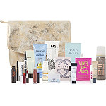 Online Only%21 FREE 16-pc Luminous Gold Beauty Bag with any %2475 purchase