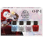 OPI Alice Through the Looking Glass 4 Pc Mini Set