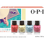 OPI Retro Summer 4 Pc Mini Set