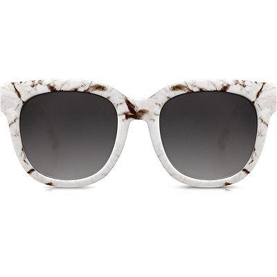 PerverseDawn Patrol %22Crack%22 Marbled Wayfarer Retro Square Sunglasses