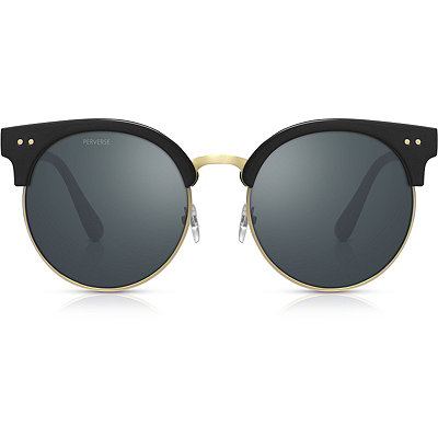 PerverseFresh %22Black Magic%22 Gold %26 Black Clubmaster Sunglasses