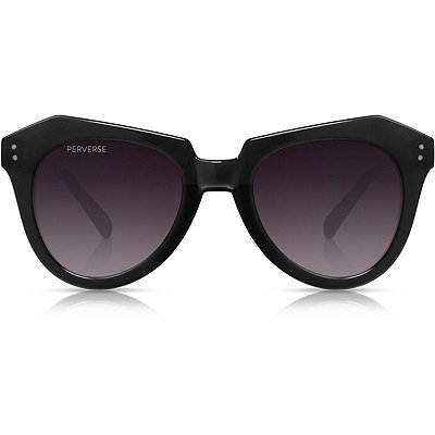 Perverse Hater Blocker %22Blackish%22 Black Retro Square Sunglasses
