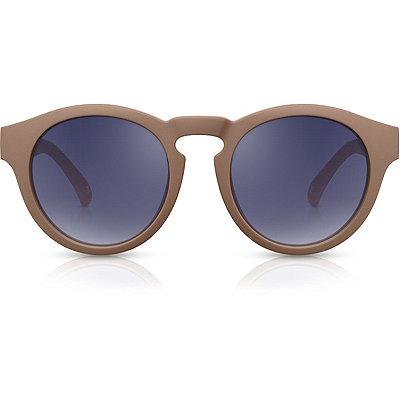 PerverseOmorfia %22Mocha%22 Retro Round Mirror Lens Sunglasses