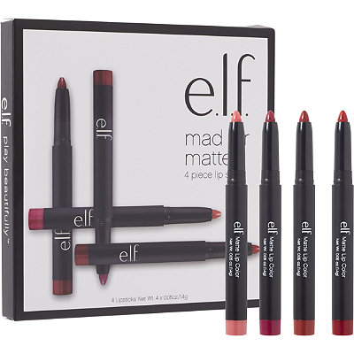 e.l.f. Cosmetics Online Only Mad for Matte Lip Color Set