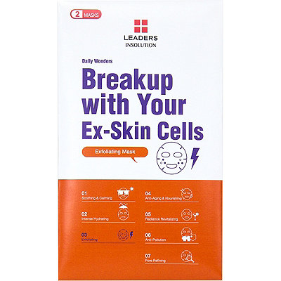 Leaders Daily Wonders Break Up With Your Ex-Skin Cell Mask