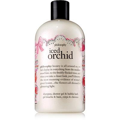 PhilosophyIced Orchid Shampoo%2C Shower Gel %26 Bubble Bath