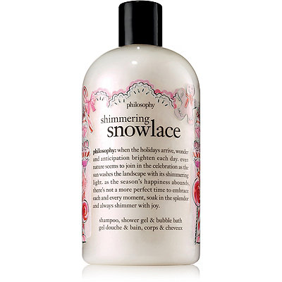 PhilosophyShimmering Snowlace Shampoo%2C Shower Gel %26 Bubble Bath