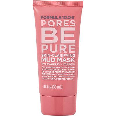 Formula 10.0.6Travel Size Pores Be Pure Skin Clarifying Mud Mask